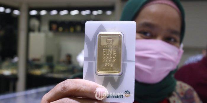 Update Harga Emas Antam Hari Ini, Senin 24 Mei 2021: Naik Harga Jadi Rp 959 Ribu per Gramnya